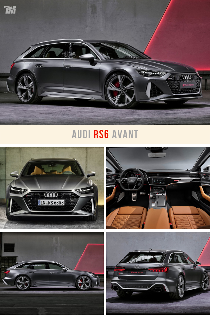 The 2020 Audi Rs6 Avant Is A Super Wagon With 591 Hp That Can Accelerate From Zero To 62 Mph In An Almost Km H Supercar Like Cool Sports Cars Audi Rs6 Audi