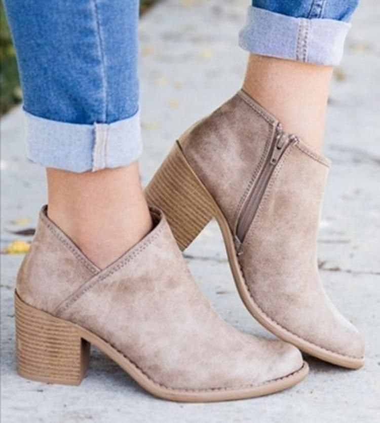 5425771a42 Fashion Chic Pointed Toe Ankle Boots | Women Shoes | Pinterest | Boots,  Stiletto heels and Heels