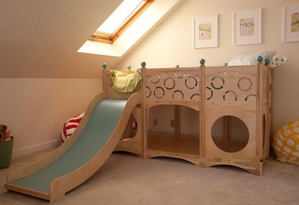 Bunk Beds With Childrens Playground Stairs Unique Kids Beds