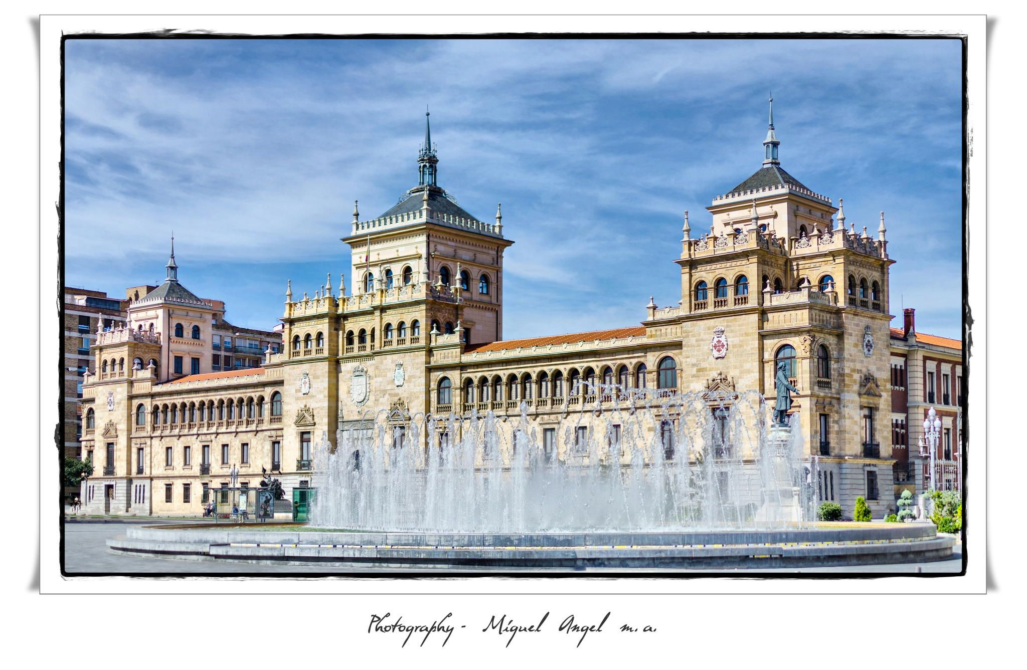 Academia caballeria - Valladolid by Miguel Angel  on 500px