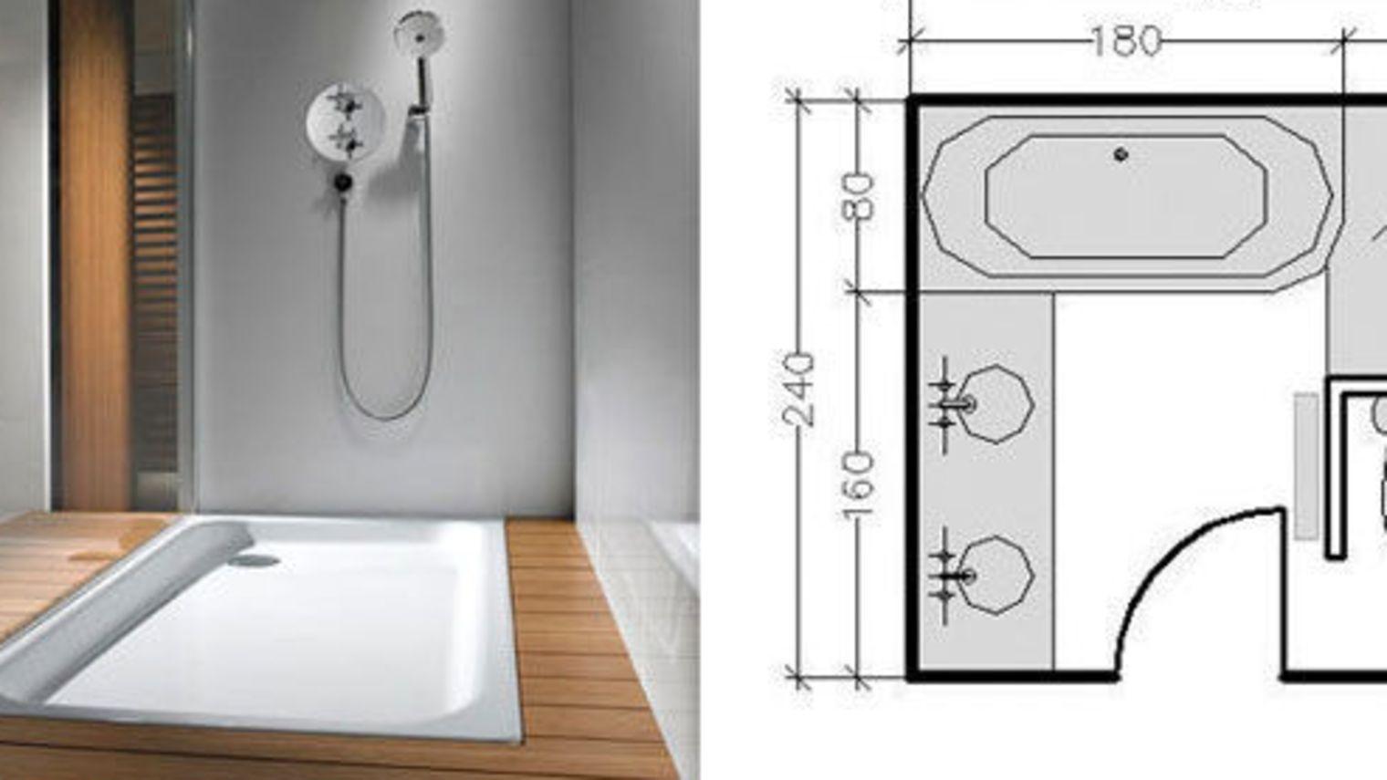 Exemple Salle De Bain 8m2   salle de bain   Plan salle de ...