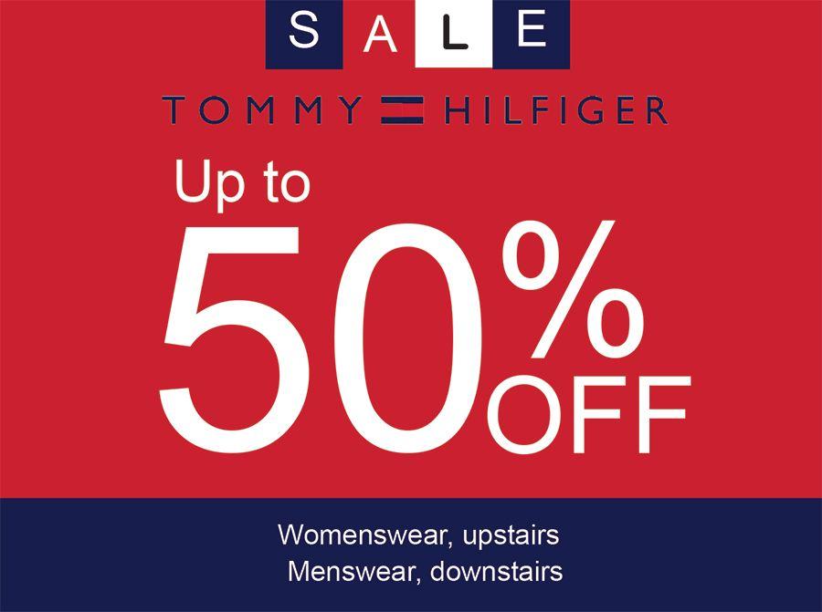 tommy hilfiger sales