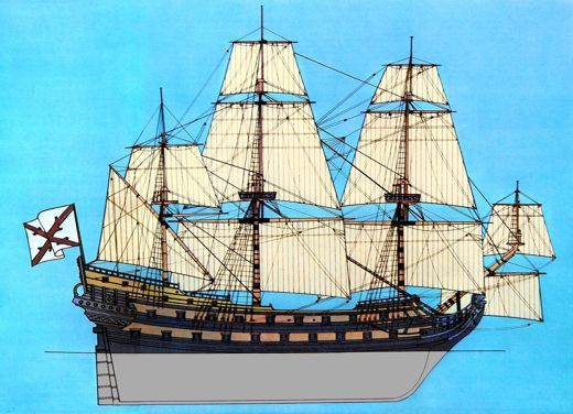 Spanish ship of the midlate 1600s storyboard conquistador spanish ship of the midlate 1600s publicscrutiny Choice Image
