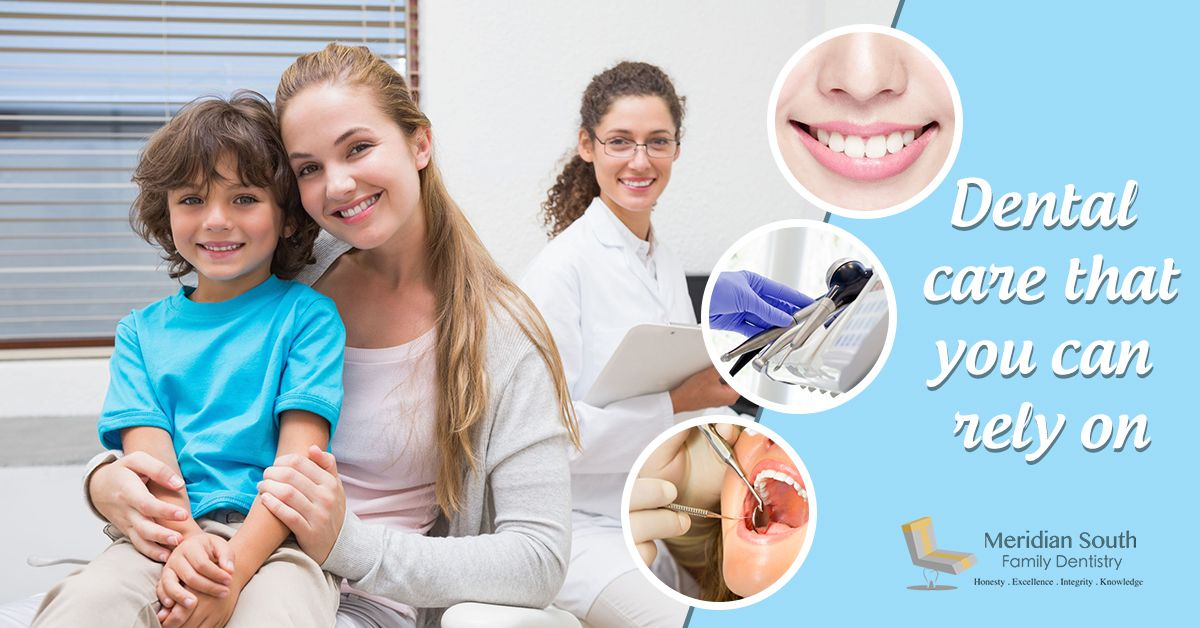 We offer the dental care that you can rely on for you and