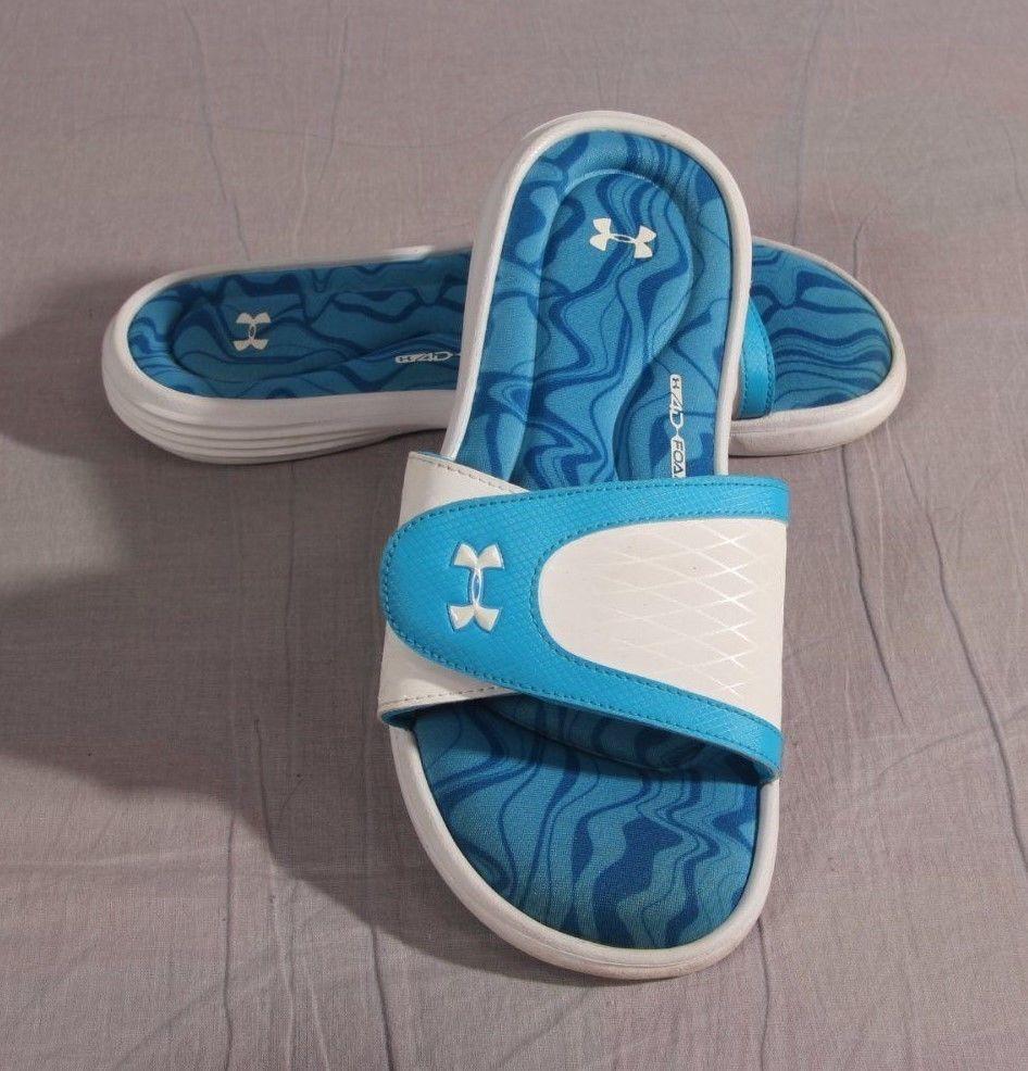 e1574bc1c953 Women s Under Armour 4D Foam Sandals Multi-color Size 9 M Slides Low   UnderArmour  Slides