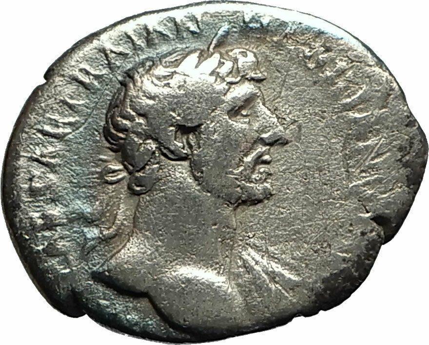 HADRIAN 119AD Silver Authentic Genuine Ancient Roman Coin