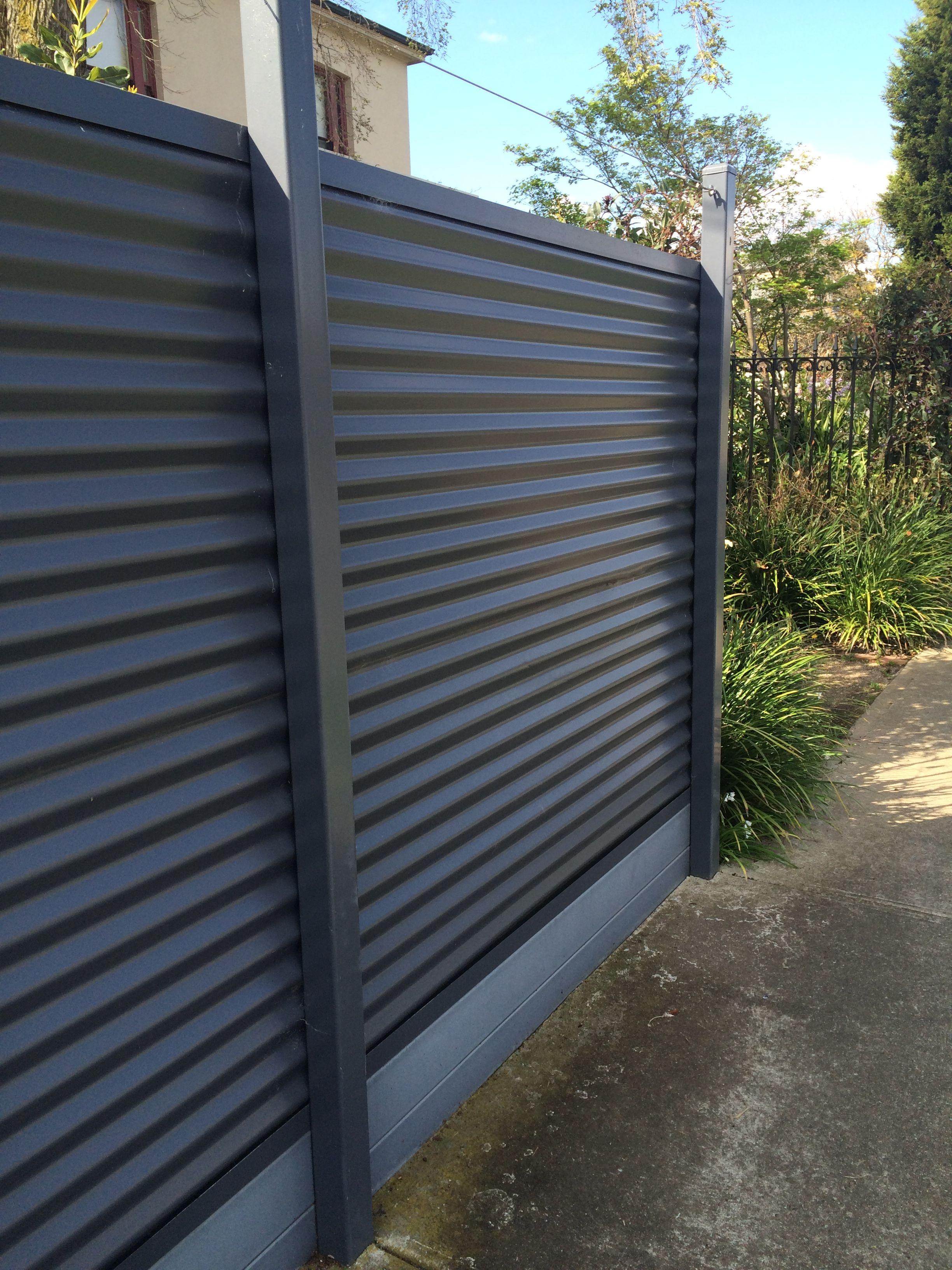 Fence Idea Bundalong Privacy Fence Designs Diy