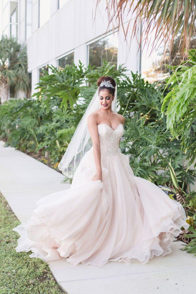 Winter Holidays in Florida Inspiration Shoot Wedding