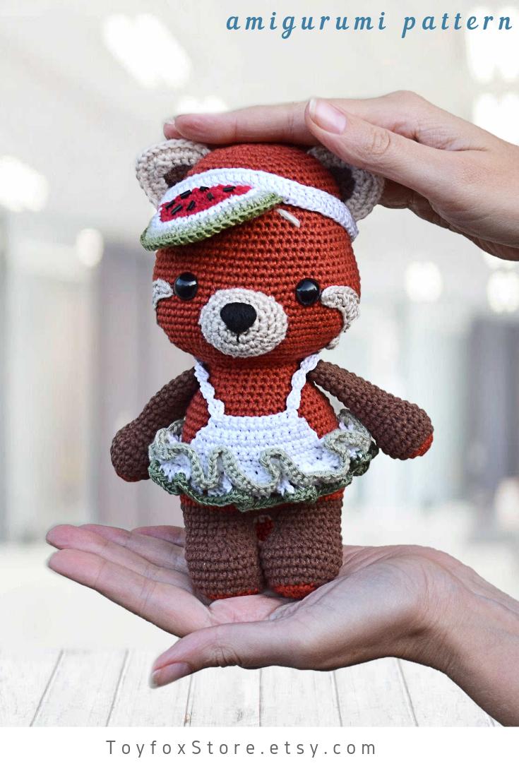 Panda Amigurumi Crochet Tutorial Part 2 - YouTube   1102x735