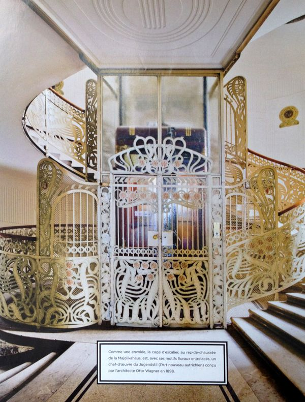 Old Art Nouveau Apartment In Vienna Called Majolikahaus Majolica House Designed By Otto Wagne Art Nouveau Interior Art Deco Interior Art Nouveau Architecture