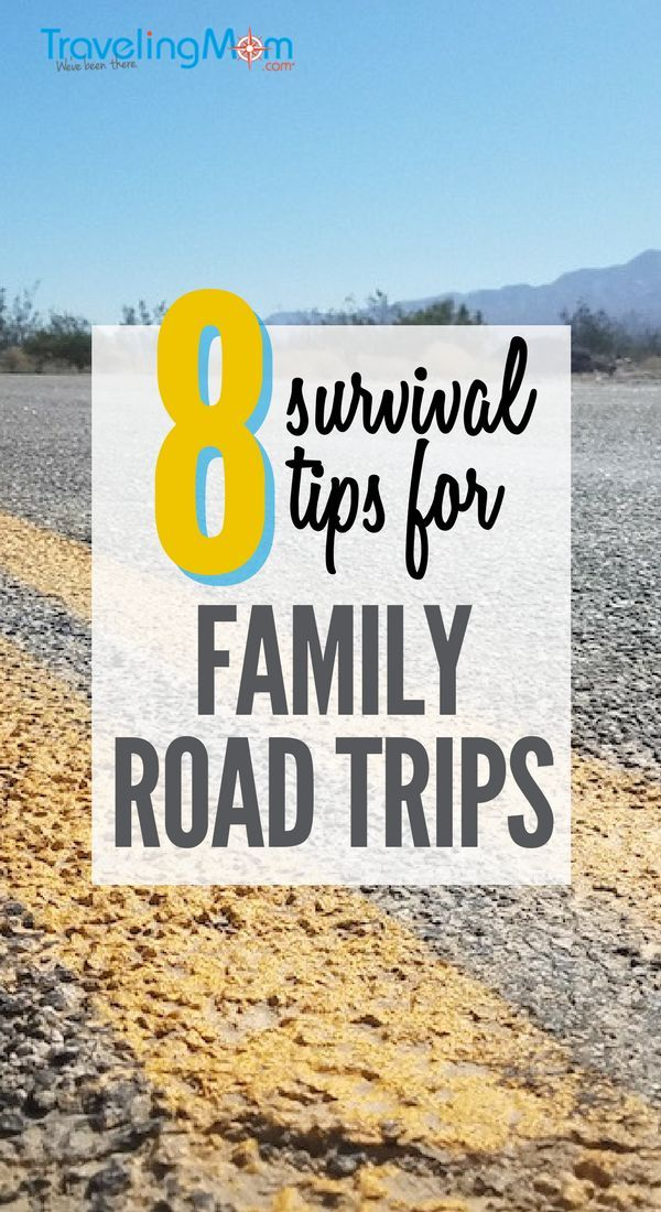 Road Trip Survival: How to Survive Cross Country Road ...