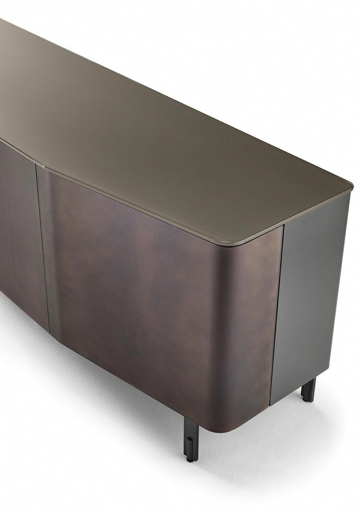 Plana sideboard designed by studio klass for fiam italia 2018 new collection linea inc modern furniture los angeles infolinea inc com homedecor