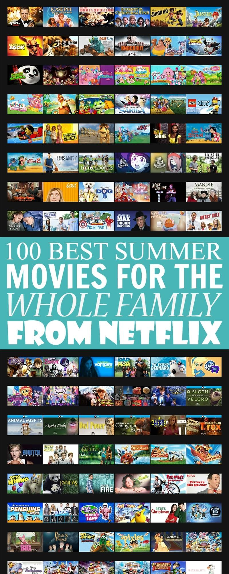 100 Best Summer Movies For The Whole Family On Netflix With