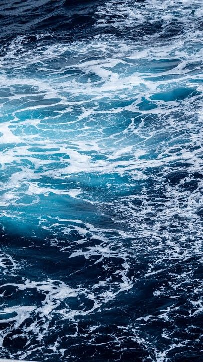 Download iPhone Xs, iPhone Xs Max, iPhone XR HD wallpapers  ocean, water, foam, waves - Free Wallpaper | Download Free Wallpapers