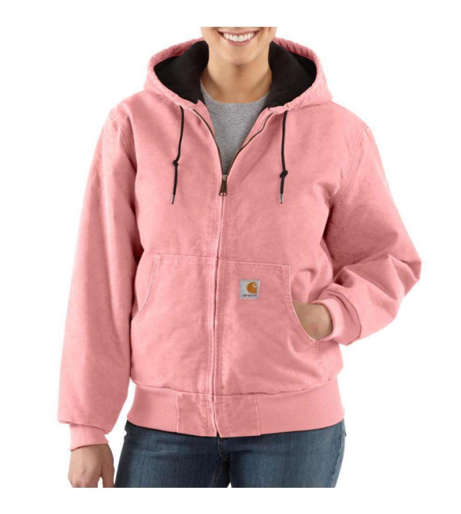Details about New Carhartt Women's Sandstone Sierra Jacket Pink ...