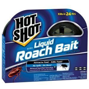 Hot Shot Ultra Liquid Roach Bait 6 Count Hg 95789 4 The Home Depot Hot Shots Kill Roaches Pest Control