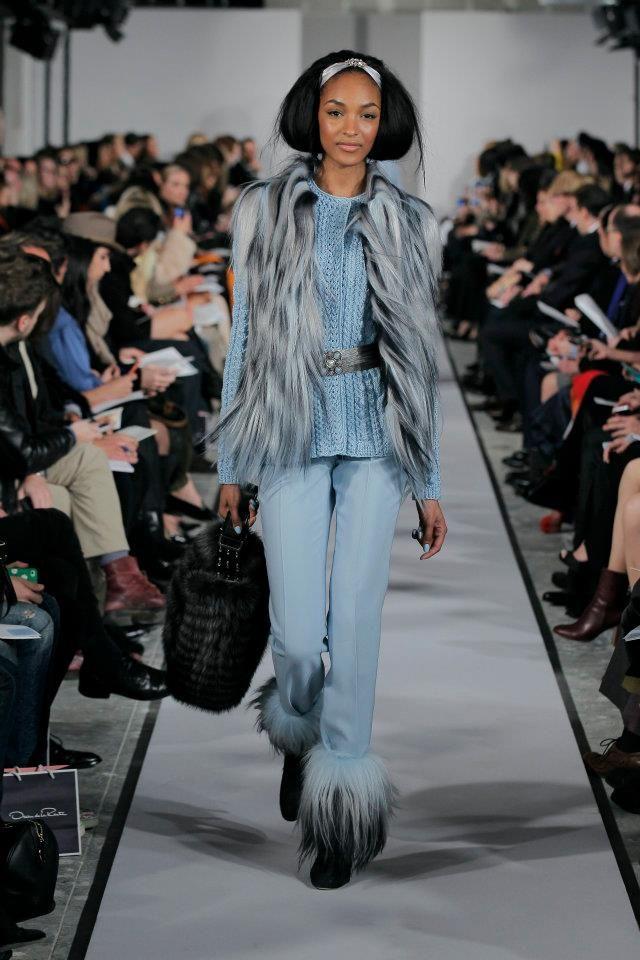 Oscar de la Renta, 2012 NY Fashion Week.