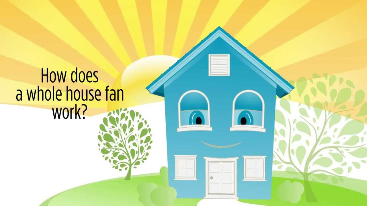 Hey Everyone Through This Video You Will Get Perfect Idea About How Do Whole House Fans Work To Learn More About C Whole House Fan House Fan Whole House Fans