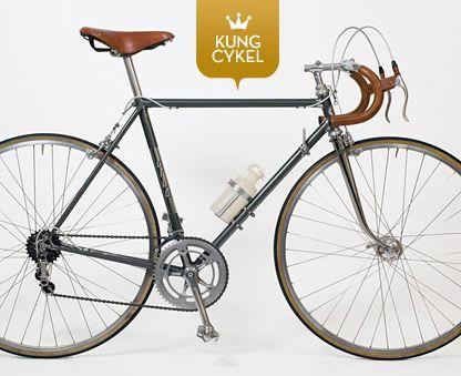 retro cykel racer