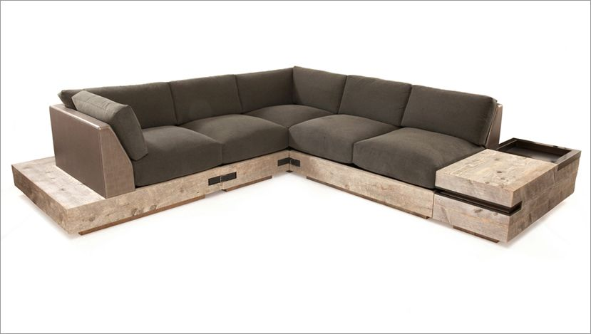 Check out the deal on ceniza sectional sofa at eco first for Sectional sofa frame plans