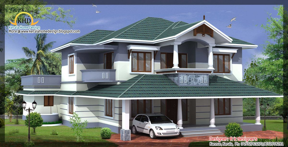 House awesome house designs 2850 Sq