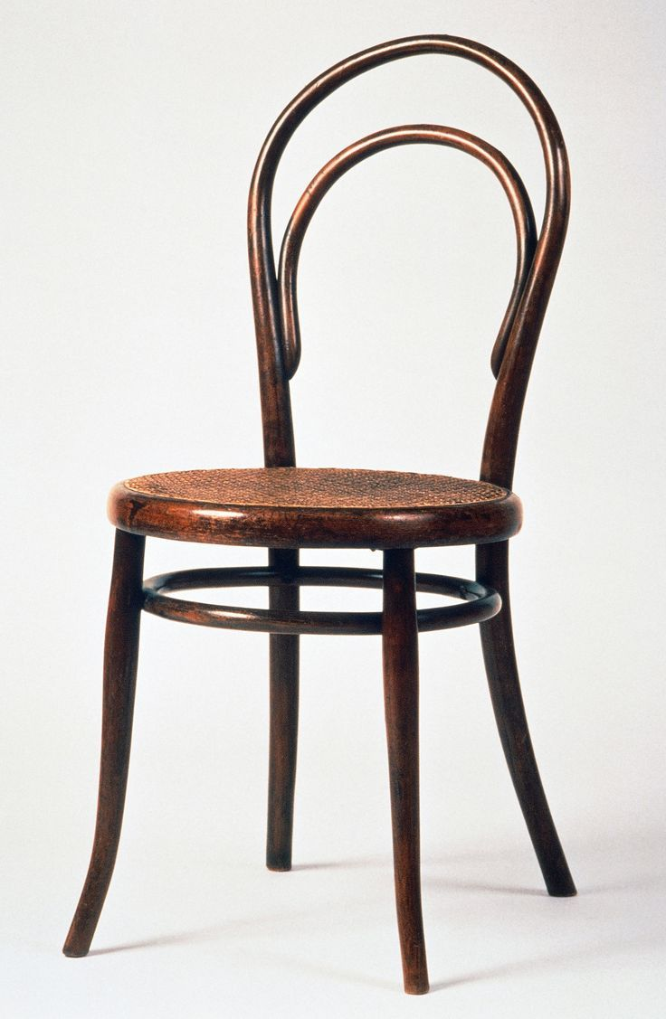 Michael Thonet, Cafe Chair No.14, 1859. Wood, Steam Bent