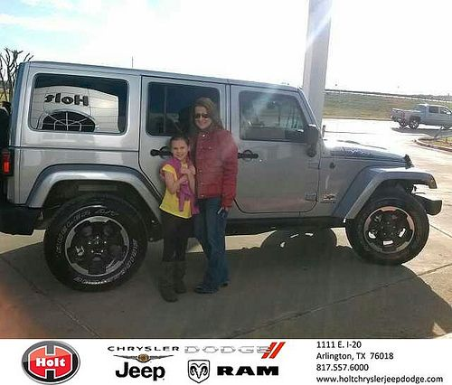 Thank You To David And Sunday Lewis On Your New 2014 Jeep