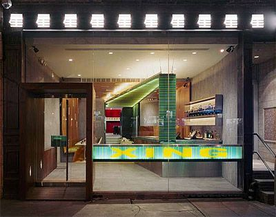 chinese restaurant design store front | architecture- materials
