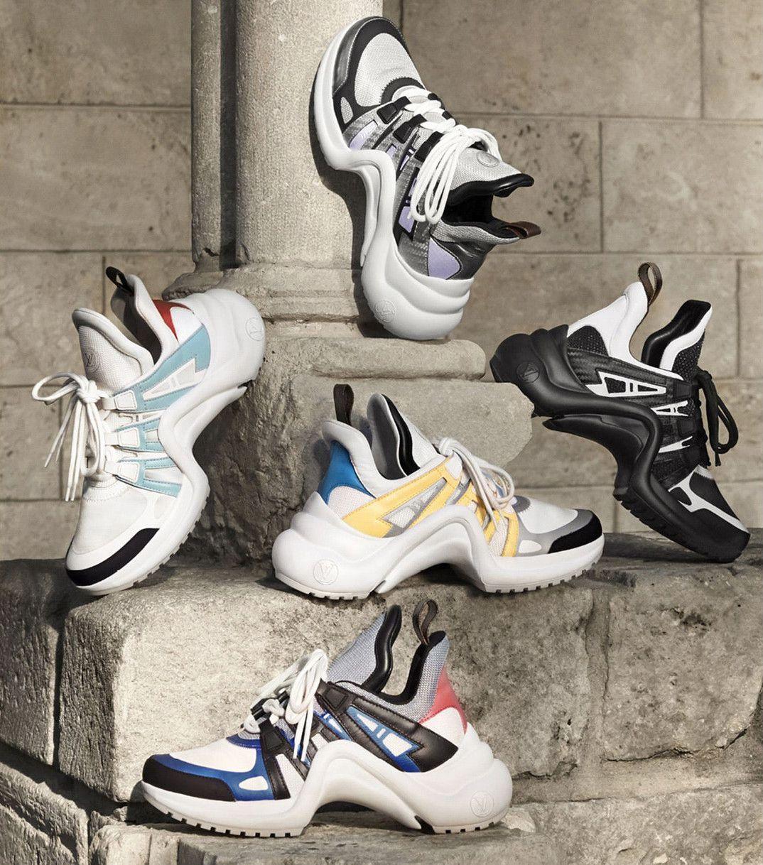 4a74c12981c Louis Vuitton 全新復古運動鞋 Archlight 發售詳情公開