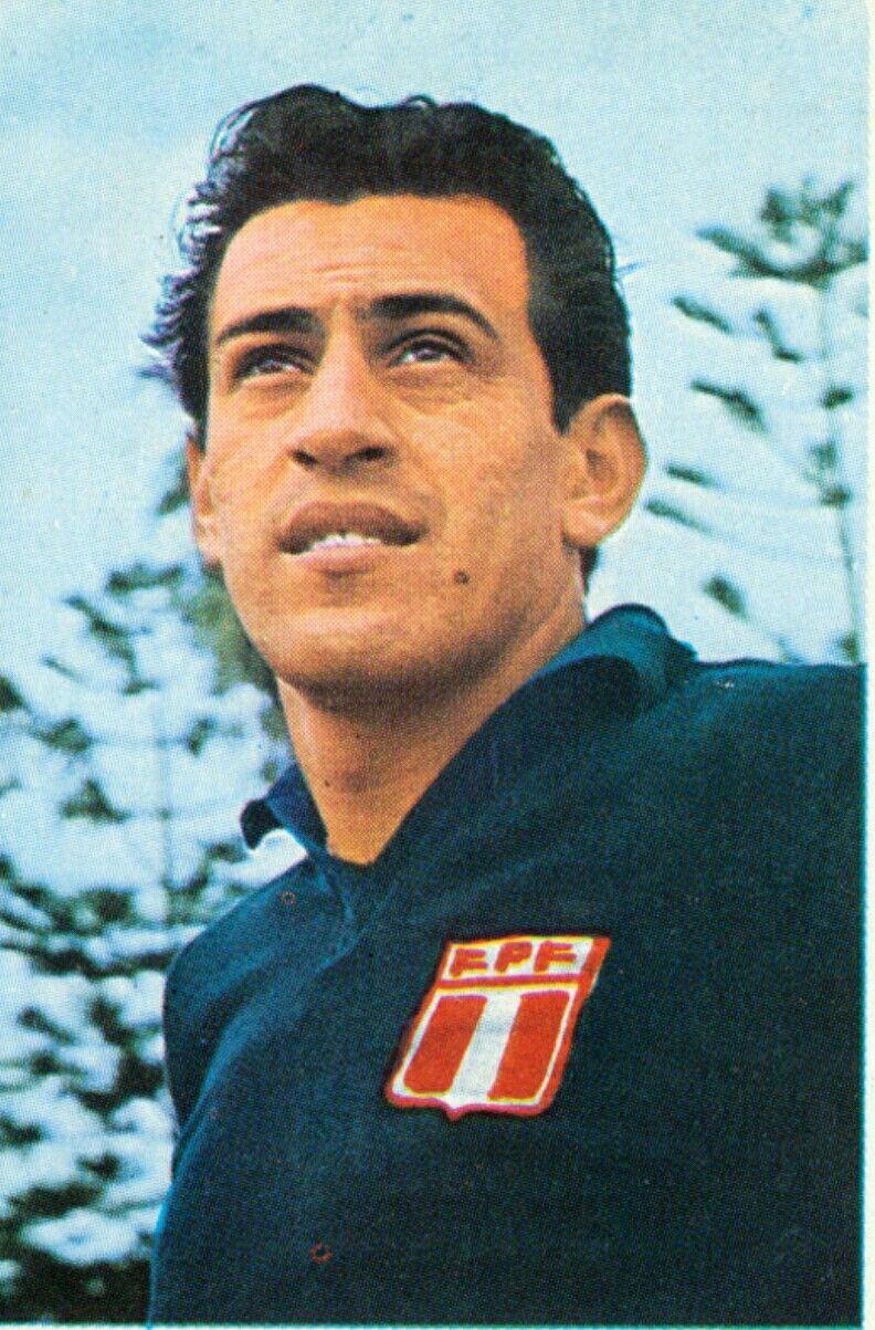 Ruben Correa of Peru 1970 World Cup Finals card