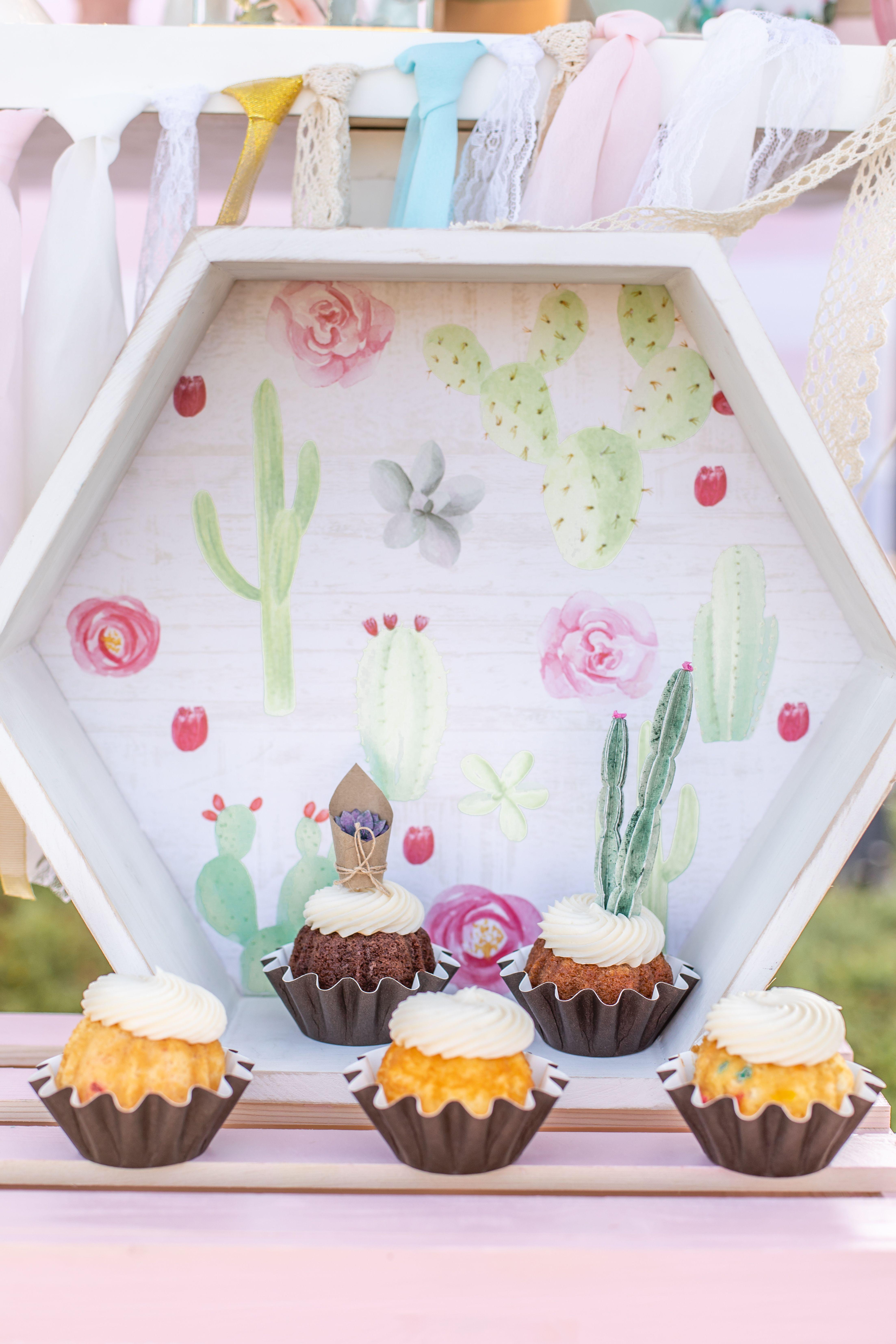 San Diego Cactus Themed Birthday Party