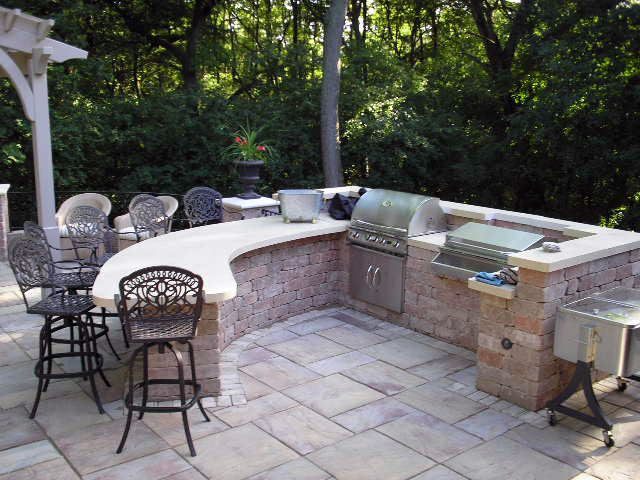 Outdoor Grill Design Ideas Outdoor Bar And Grill Designs