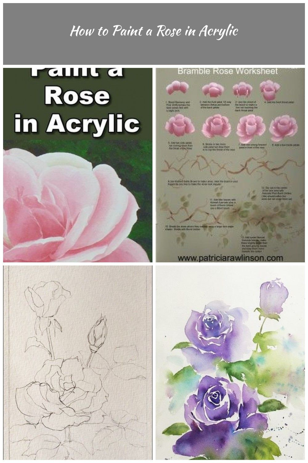 Roses Are One Of The Most Popular Flowers But Not As Easy To Paint In This Class You Will Learn The Secrets Most Popular Flowers Realistic Rose Rose Painting