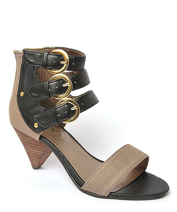 Black Ola Sandal - these are adorable and the heel isn't super tall so they're practical.