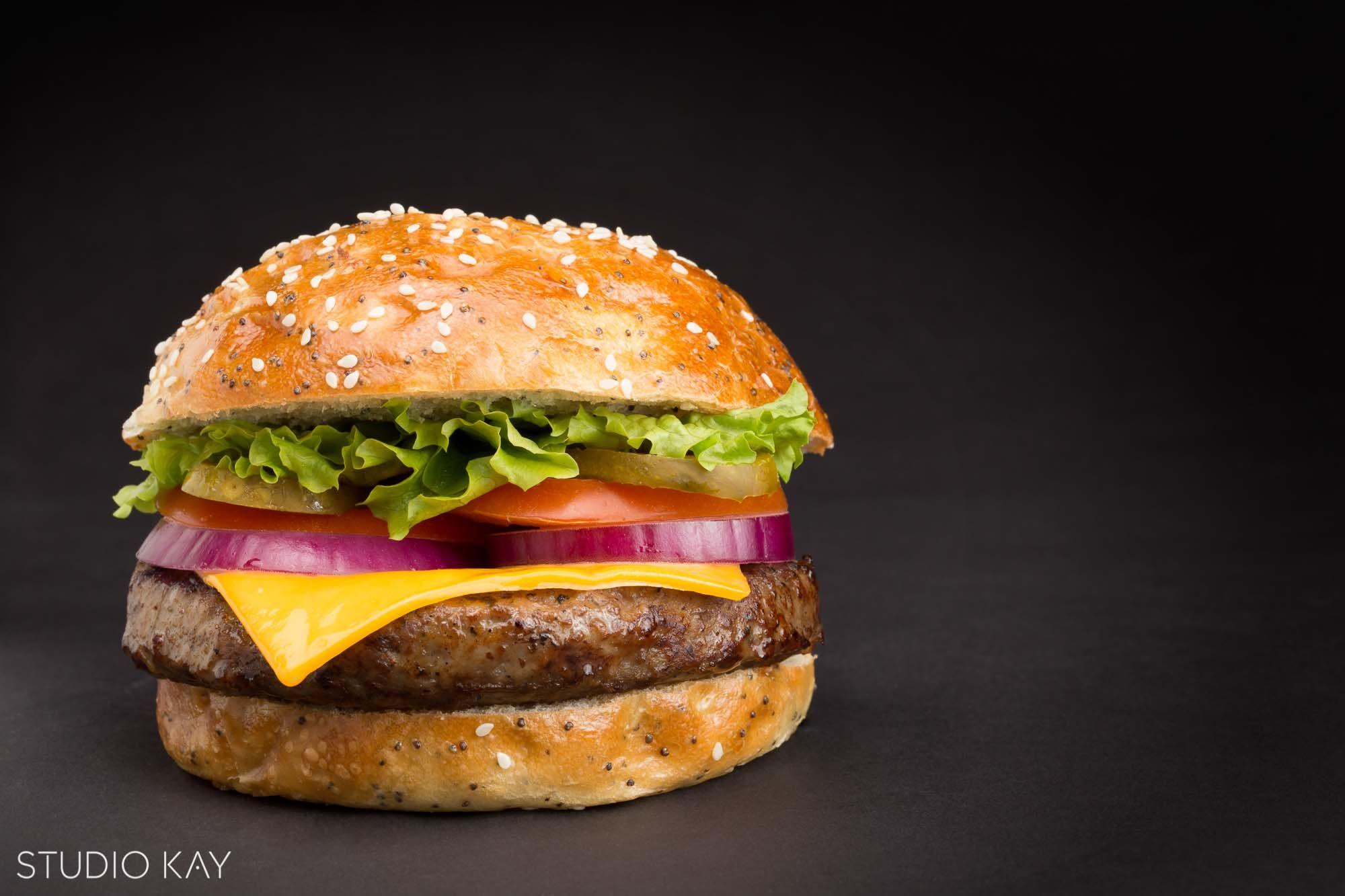 Delicious and beautiful hamburger photography | Studio Kay ...