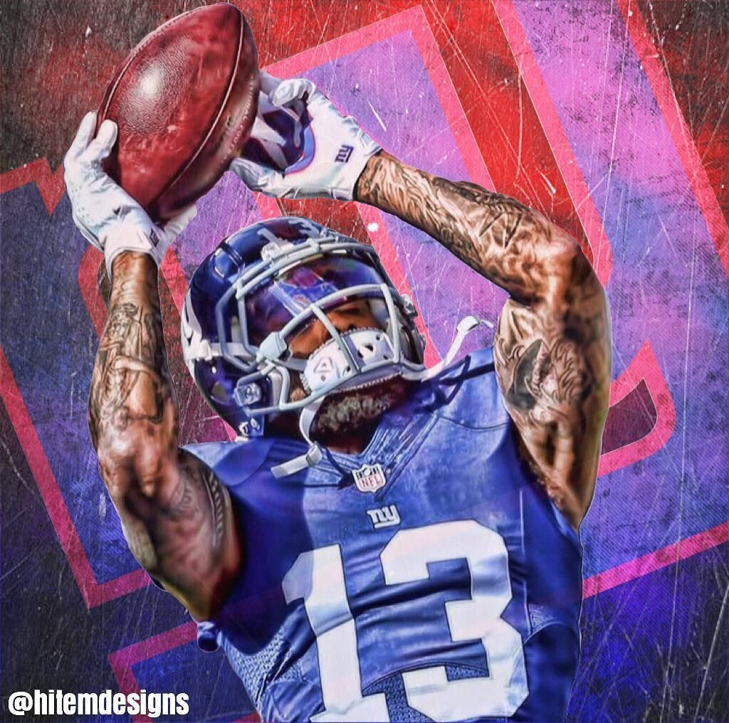 36 Likes 6 Comments Sports Edits Mint Graphix On Instagram Odell Odell Odellbeckhamjr Odellbeck New York Giants Logo Odell Beckham Jr Beckham Jr