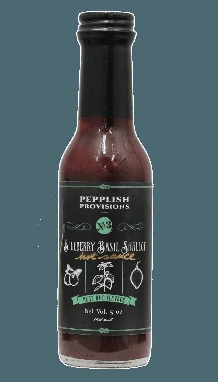 Pepplish Provisions - Blueberry Basil Shallot Hot Sauce