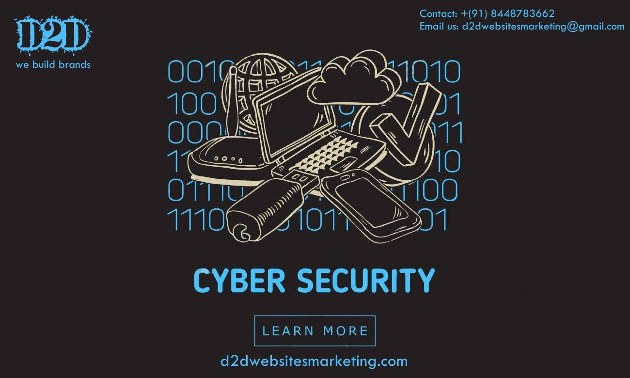 D2D Website Marketing Cyber security, Cyber safety