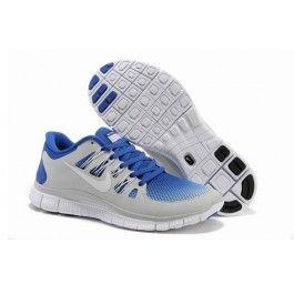 Nye Ankomst Nike Free 5.0+ Lysgrå Blå Unisex Sko Skobutik   Nyeste Nike Free 5.0+ Skobutik   Populær Nike Free Skobutik   denmarksko.com