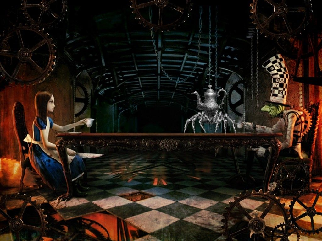 Alice Madness Returns Tea With The Mad Hatter Alice Madness