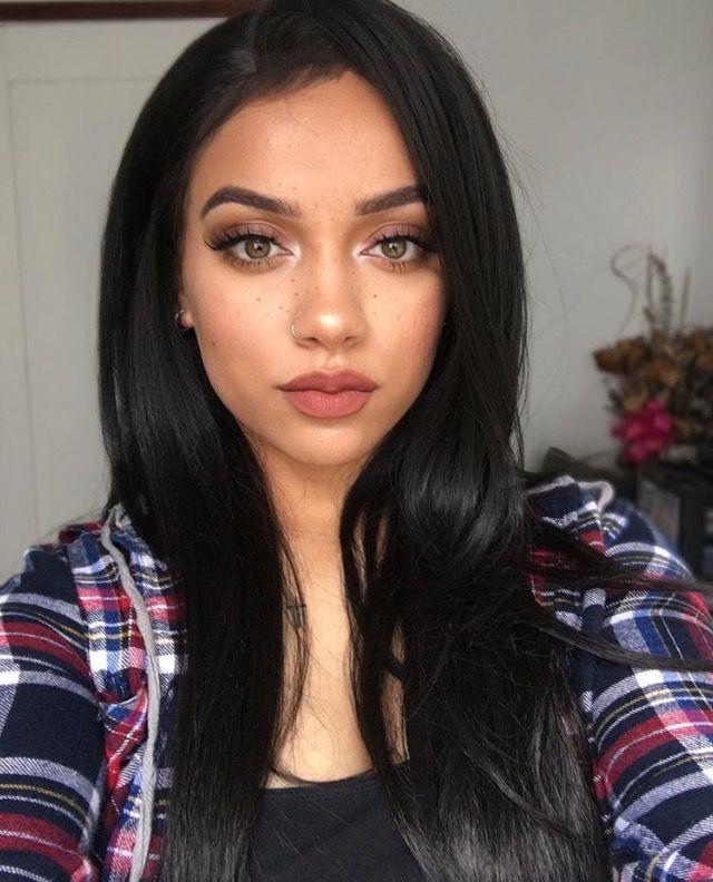 Instagram Mua Myesha Pretty Hair Color Makeup Looks Pretty Face