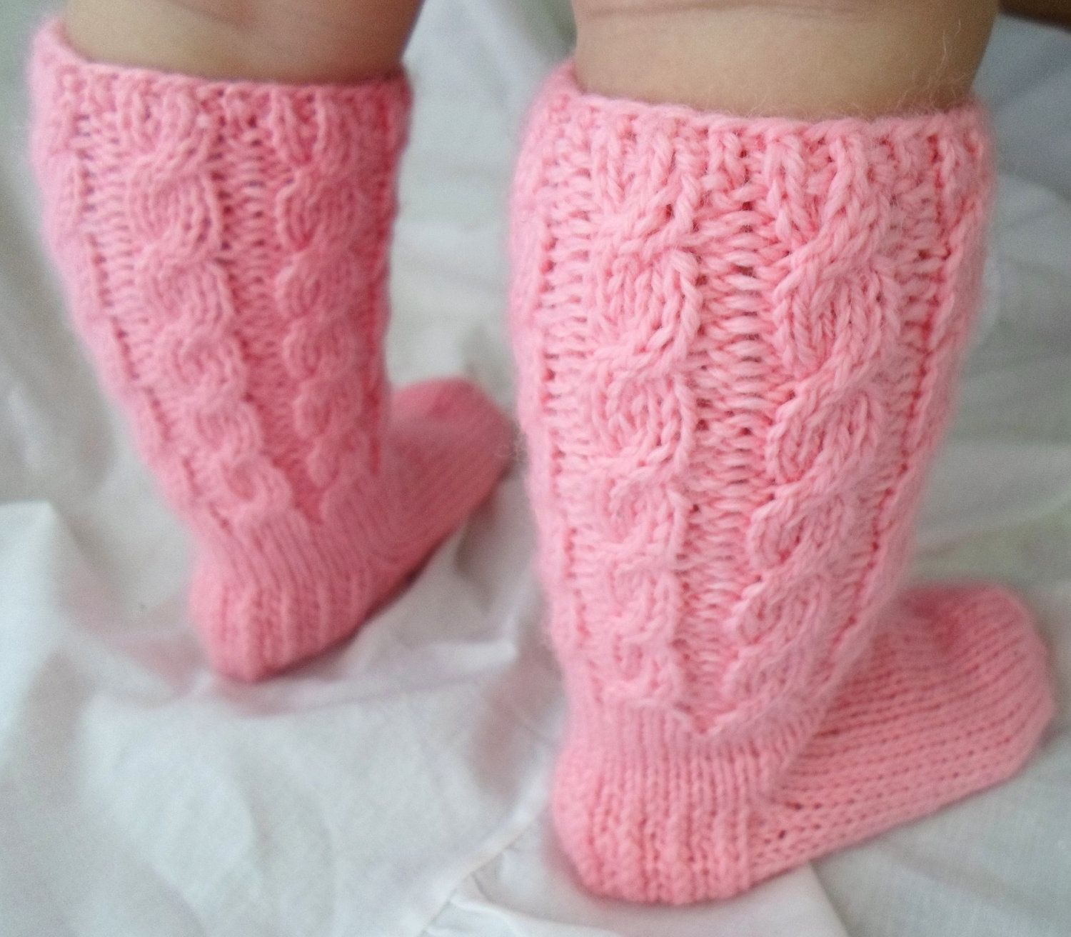 Customer Order For Melanie Baby Girl Knitted Wool by ManCrochets