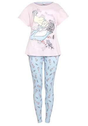 Disney Alice In Wonderland Pyjamas £13 Tesco