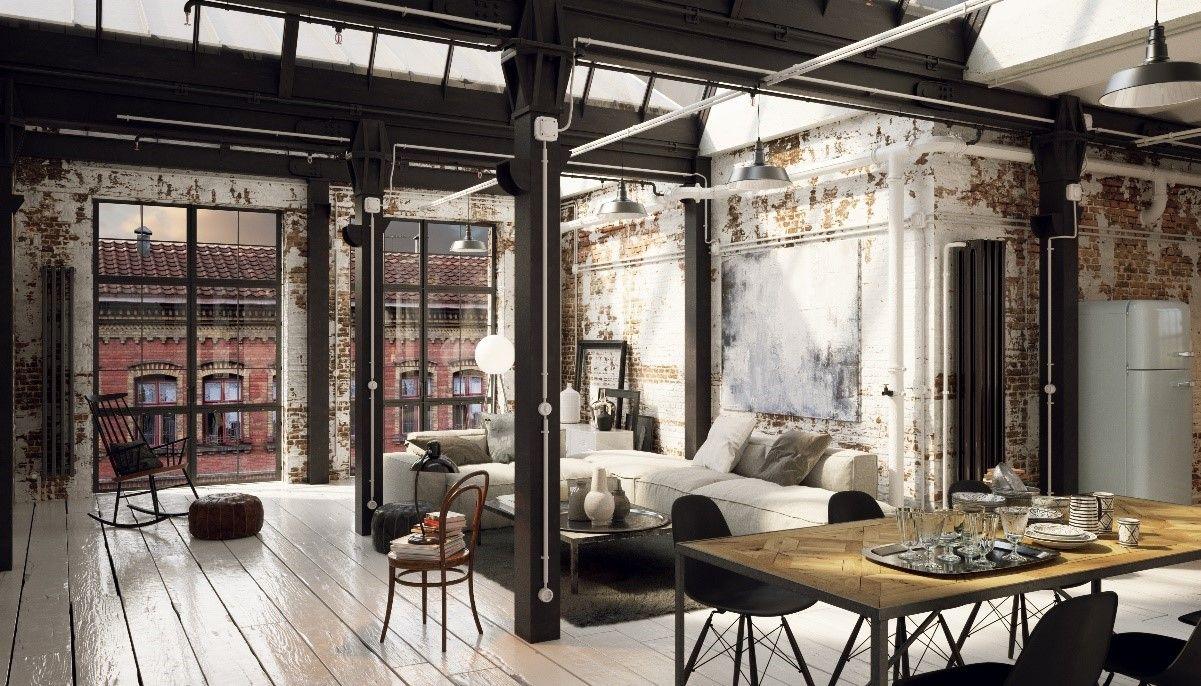 New York Style Loft Industrial Openplan Loft Style Apartments