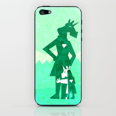 Happy Mother's Day Unicorn iPhone & iPod Skin by That's So Unicorny - $15.00