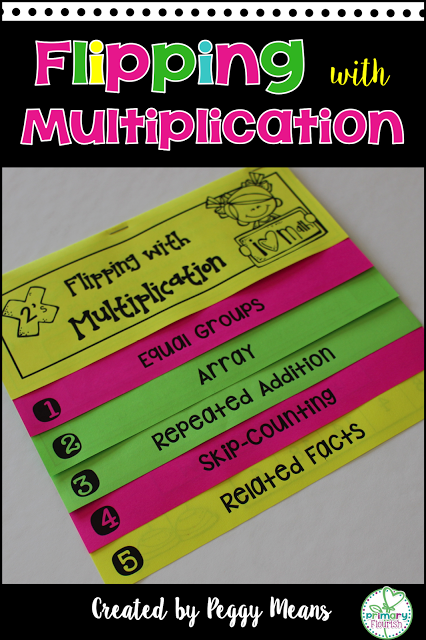 Multiplication strategies interactive flip books 2 s 10 - One of your students left their book on the table ...