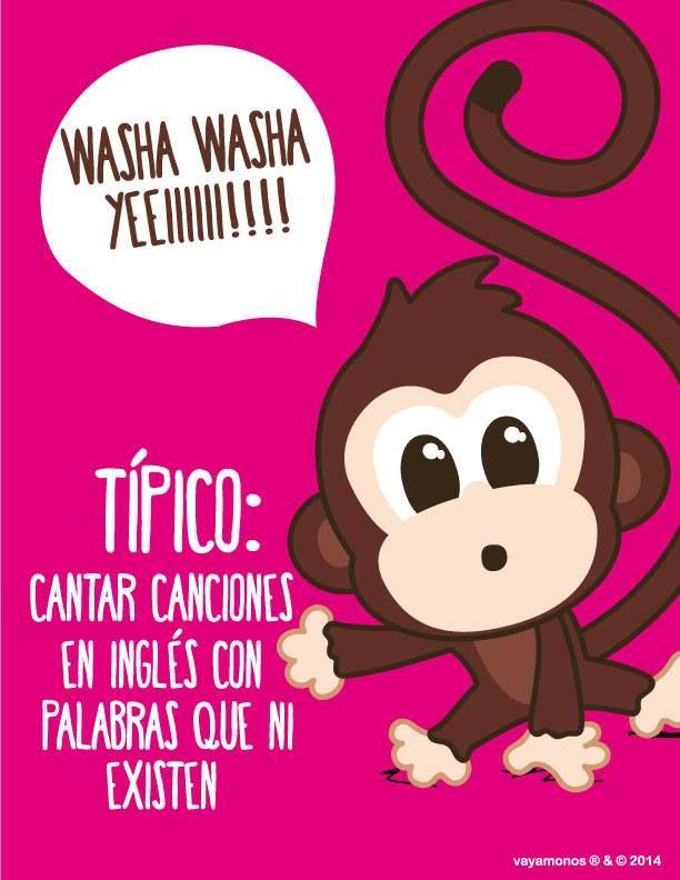 Vayamonos Vaya Monos Funny Cute Monkey Y