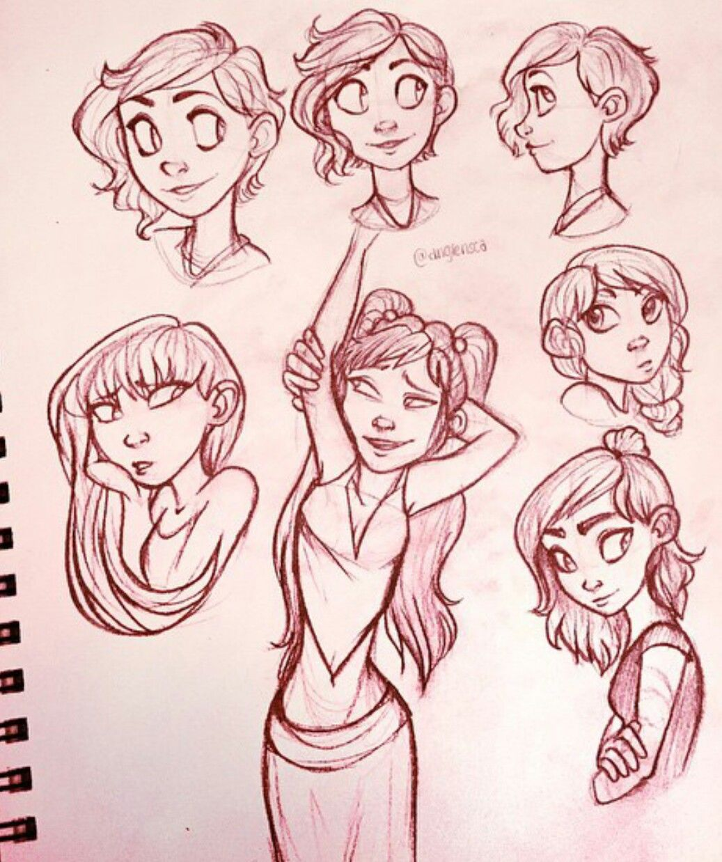 Comic Character Design Tutorial : Pin by sydni mottley on realistic art goals pinterest