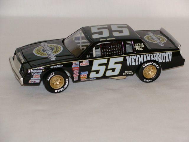 Benny Parsons 55 Weyman Bruton Tobacco Black 1982 Buick Regal CWC Custom Made Diecast