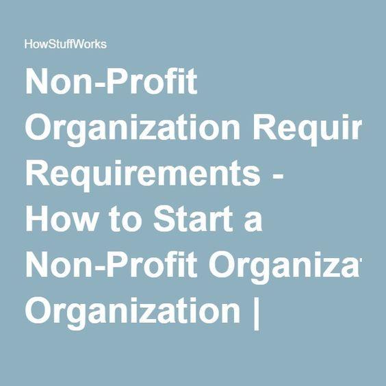How To Start A Non Profit Organization Start A Non Profit Nonprofit Fundraising Nonprofit Startup